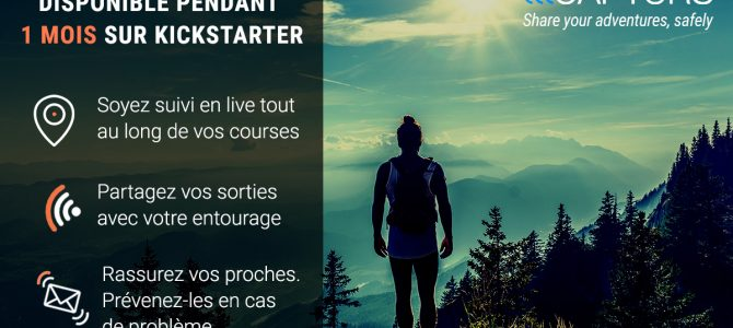 Lancement du Tracker GPS CAPTURS (Kickstarter)